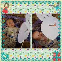 """Забавни игри от курс '' Гимнастика Мама и Бебе"""""""