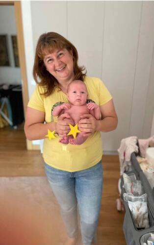 С бебка Роси на 40 дни!