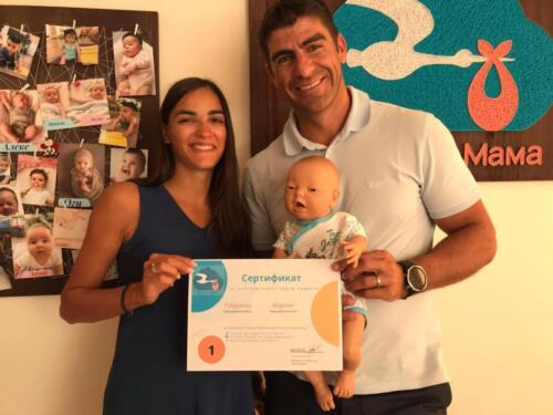 Гордея се с моите подготвени и усмихнати бъдещи родители!