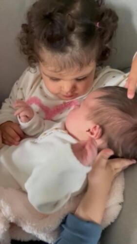 Бебе Никол с кака Дая!